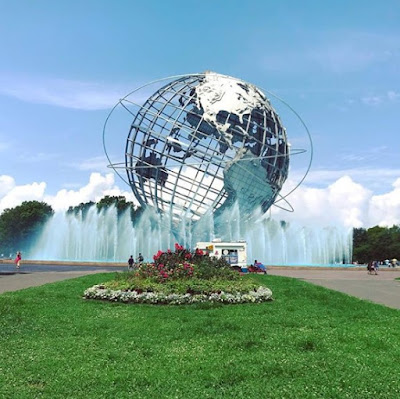Unisphere Fountain, New York City