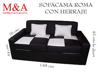 Muebles mya sofa cama for Muebles juveniles gavilan