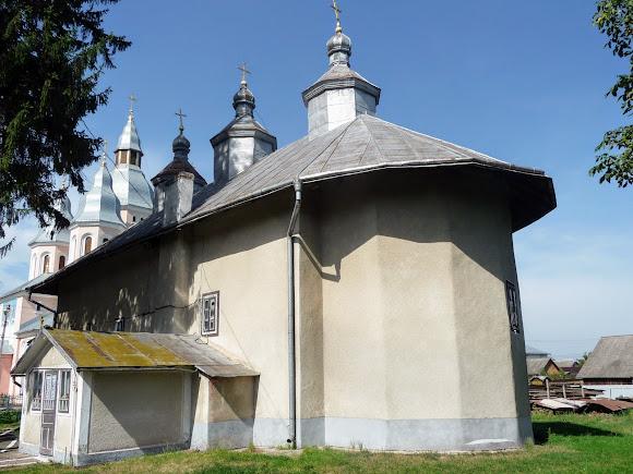 Лужани. Свято-Вознесенська церква