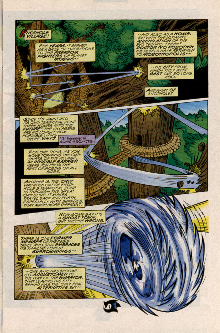 Read online Sonic The Hedgehog comic -  Issue #54 - 3