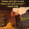 Money is NOT important: How a song in a Disney movie--Princess and the Frog helped me with my finances.