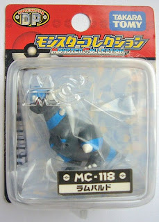 Rampardos Pokemon figure Takara Tomy Monster Collection MC series