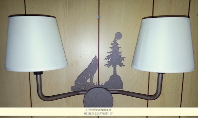 Lampade per case di montagna chalet baite e case country