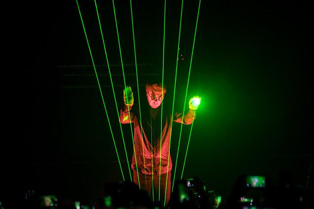 Jean Michel Jarre impactó al Luna Park con su show