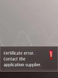 Solusi Hp Symbian Sertifikat Kadaluarsa Sertifikat Error Bikin