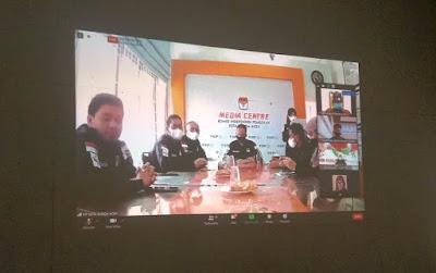 Launching Aplikasi System Pemutakhiran Data Pemilih berkelanjutan (SITIMPHAN) KIP Kota Banda Aceh tahun 2021