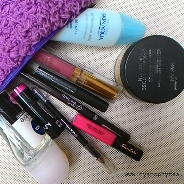 What's Inside My Makeup Pouch