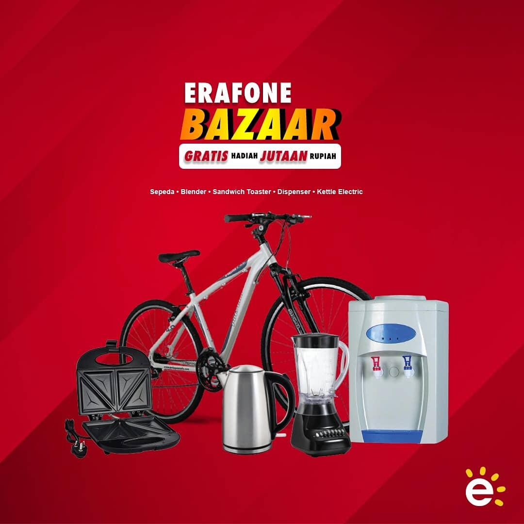 #Erafone - Promo Spesial Akhir Tahun di Erafone Bazaar 2018 (s.d 30 Des 2018)