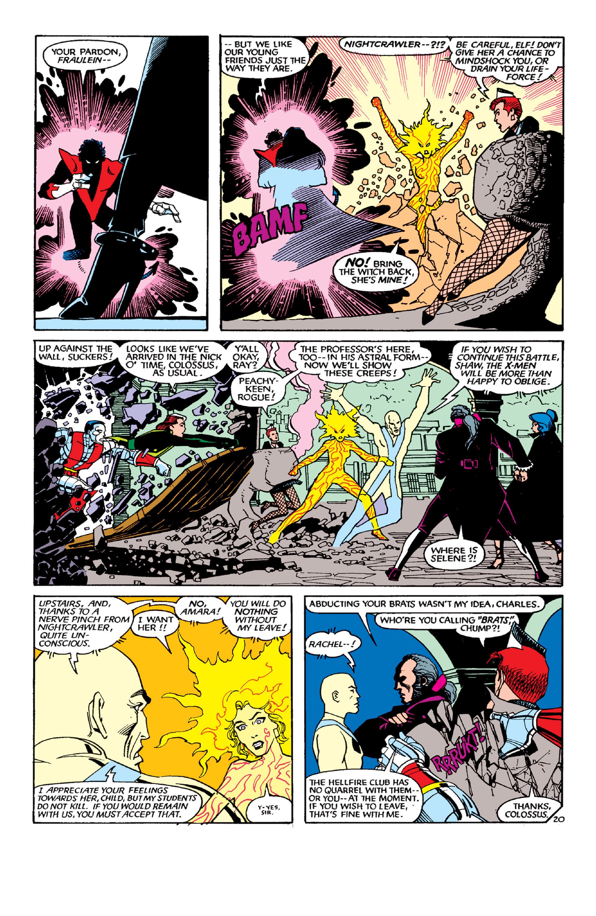 Uncanny X-Men (1963) 189 Page 19