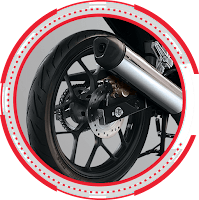 New Sporty Cast Wheel with Tubeless Tire SONIC 150R STANDARD 2018 Sejahtera Mulia Cirebon