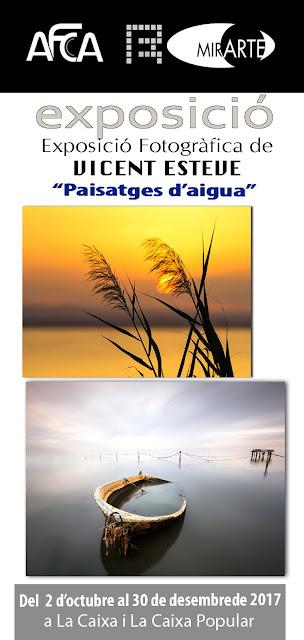 MIRARTE amb PAISATGES D'AIGUA de Vicent Esteve