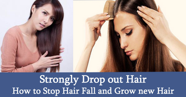 Strongly Drop out Hair: How to Stop Hair Fall and Grow new Hair
