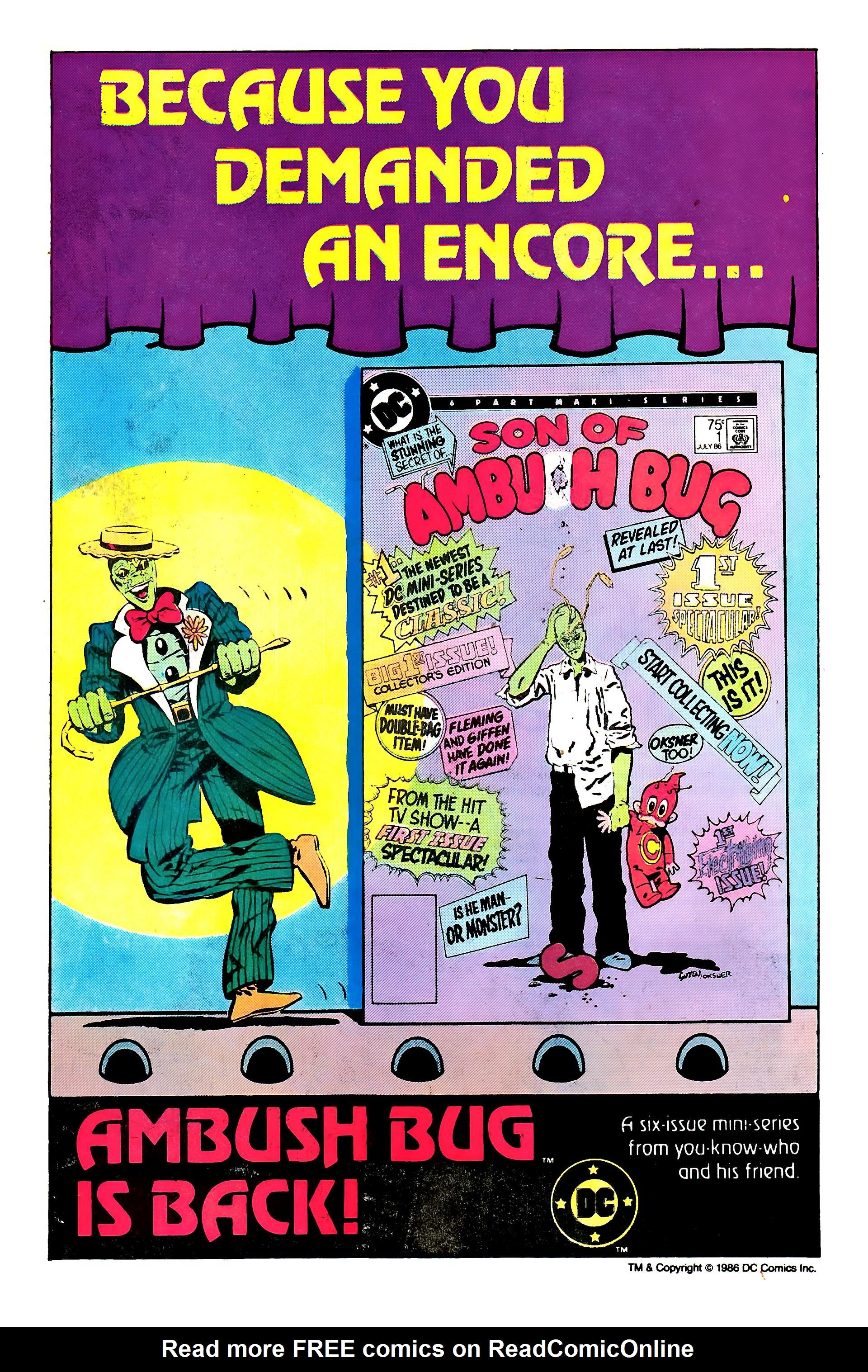 Read online Secret Origins (1986) comic -  Issue #3 - 14