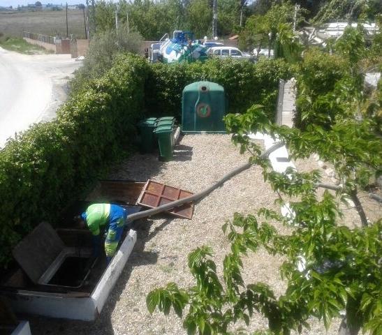 limpieza fosas septicas segovia