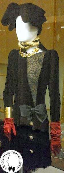 Donne protagoniste del Novecento - Cecilia Matteucci Lavarini - Yves Saint Laurent FW1993 - Galleria del Costume Firenze