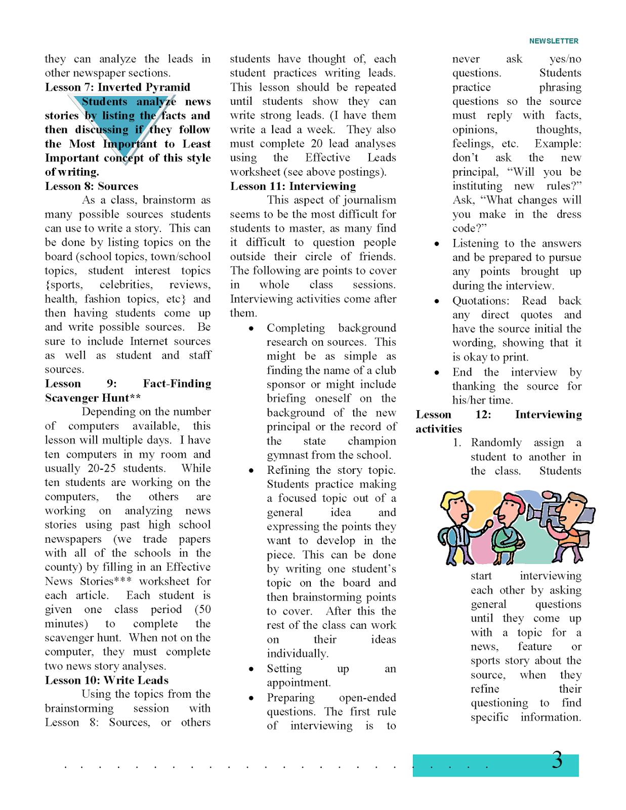PTSA Newsletter