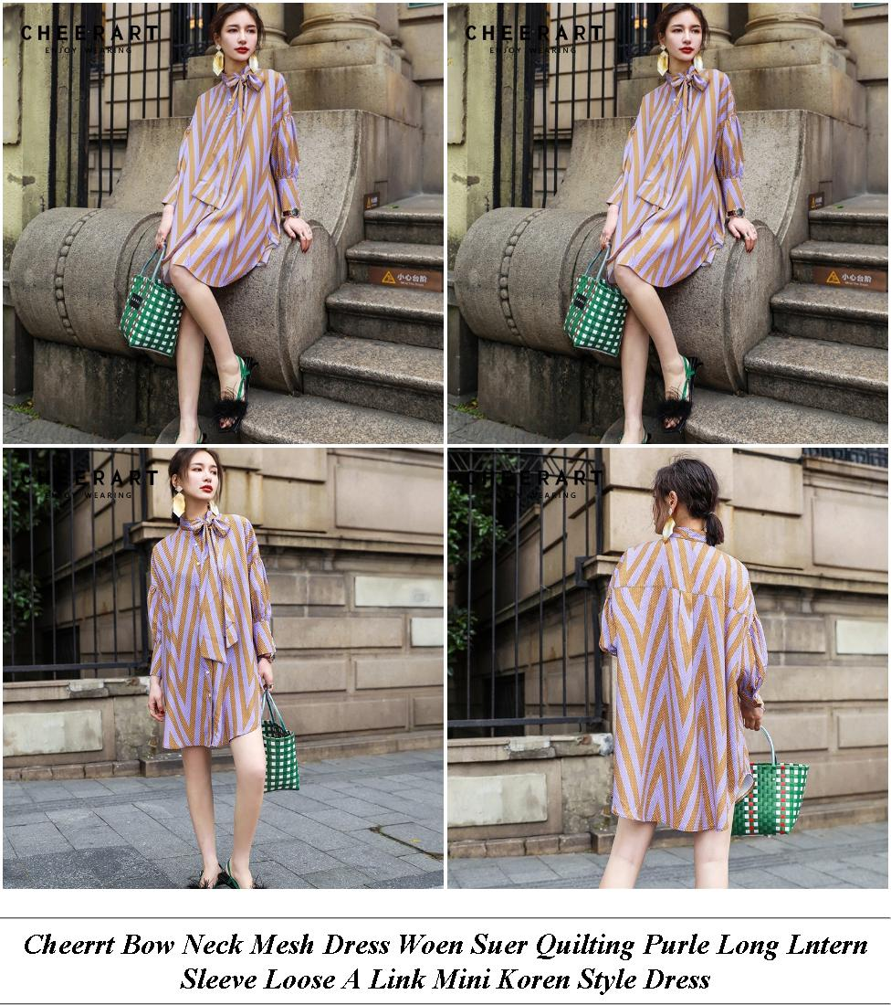 Lush Pink Midi Dress With Sleeves - Top Online Womens Clothing Stores Plus Size - Evening Dresses Store Near Me