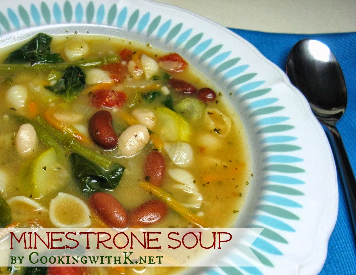 Cooking with k minestrone soup olive garden copycat - Minestrone soup olive garden recipe ...