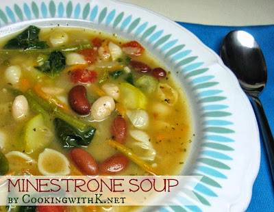 Cooking with k minestrone soup olive garden copycat - Does olive garden deliver to your house ...