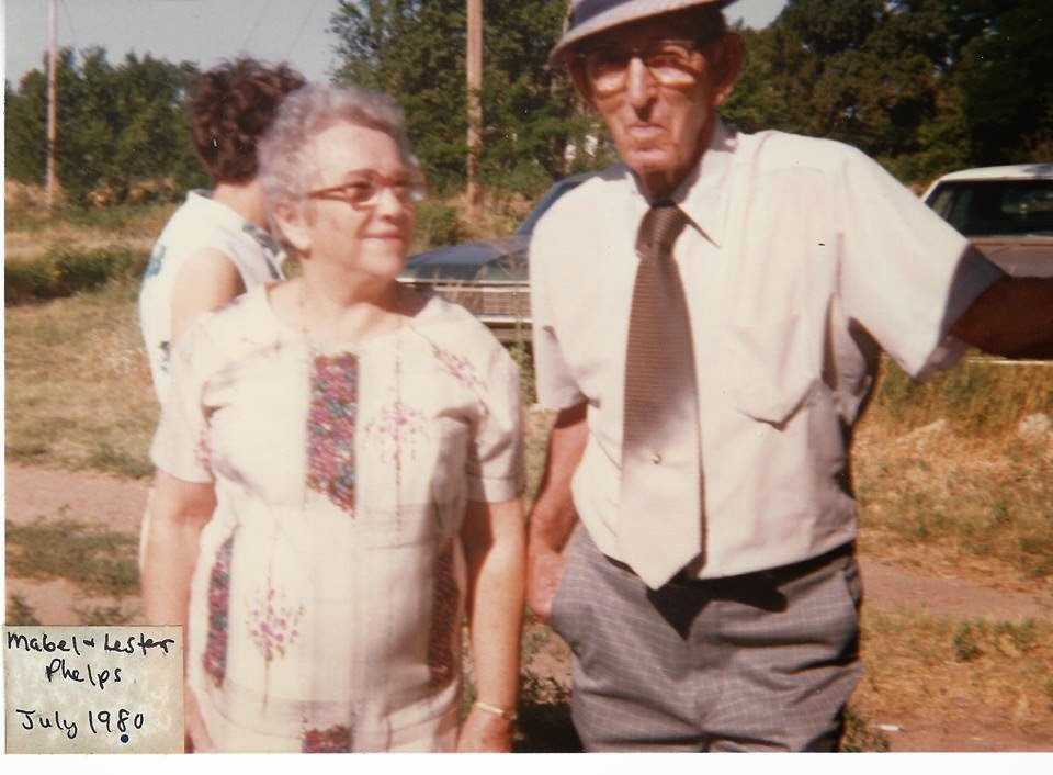 Grandma Mabel and Grandpa Lester