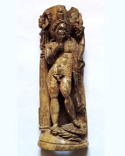 Unique ivory statuette of Graeco-Egyptian god Harpokrates unearthed in Crimea