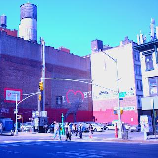Le Chameau Bleu - Voyage à New York - I love New York Street art