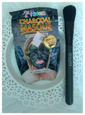 Oczyszczająca maska 2w1 (maska i peeling) Charcoal Masque, 7th Heaven- recenzja #42