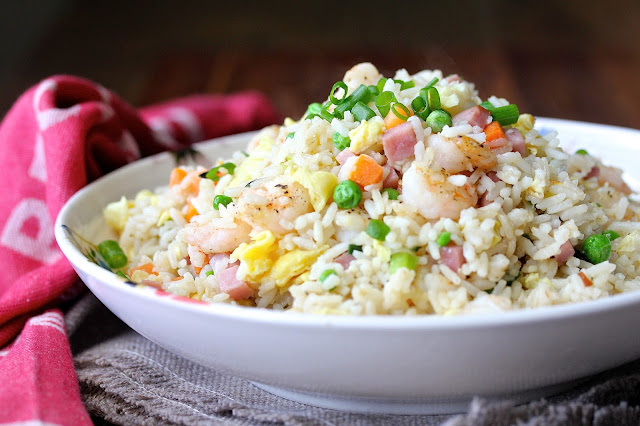 Shrimp Fried Rice with Vegetables