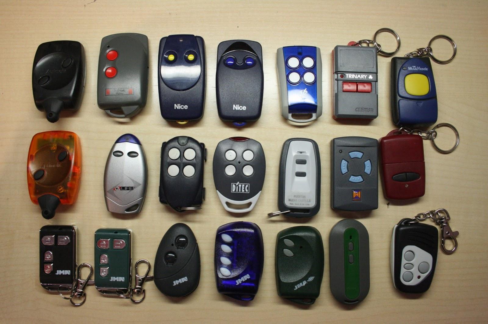 Mi llave el timo de la estampita en internet copie el - Mando a distancia garaje ...