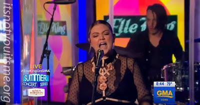 Elle King Performs On GMA