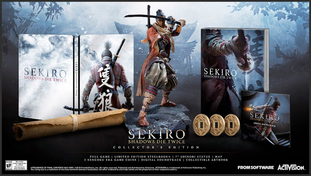 sekiro shadows die twice collectors edition activision