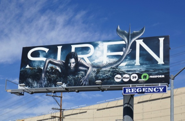 Siren series launch billboard