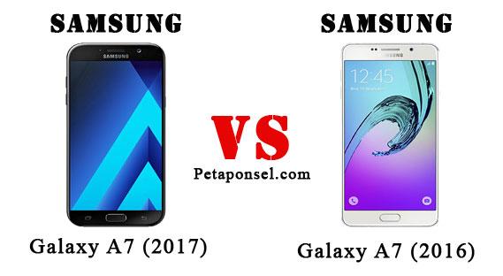 Perbandingan Samsung A7 (2017) dan A7 (2016)