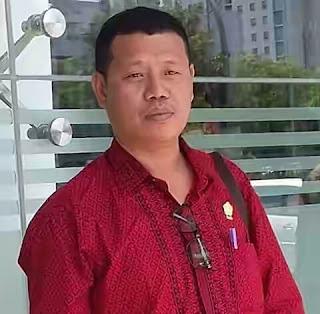 Wakil Ketua DPRD Kabupaten Kepulauan Talaud, Jacob Mangole.