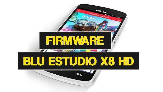 rom stock BLU Studio X8 HD