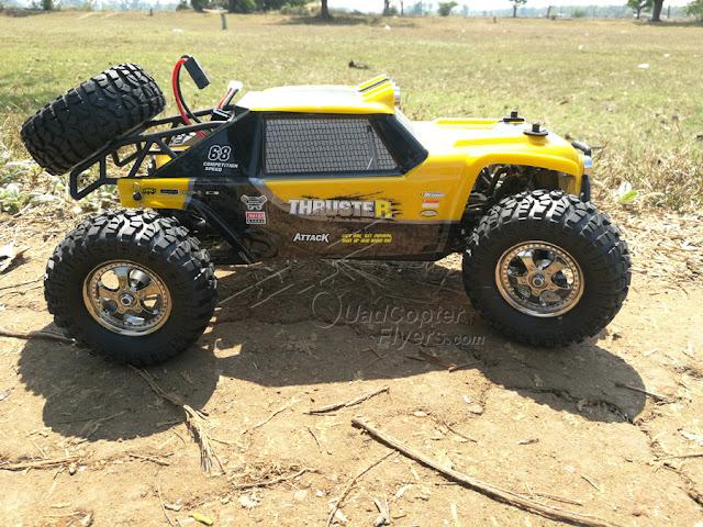 HBX 12889 1/12 2.4G 4WD RC Truggy Thruster Off-Road Desert Truck