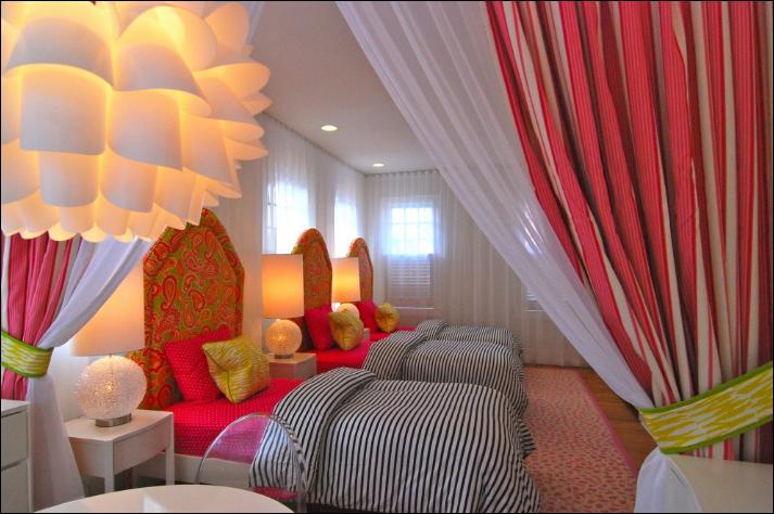 10 Beautiful Girls Dorm Rooms Roundups ~ Room Design Ideas