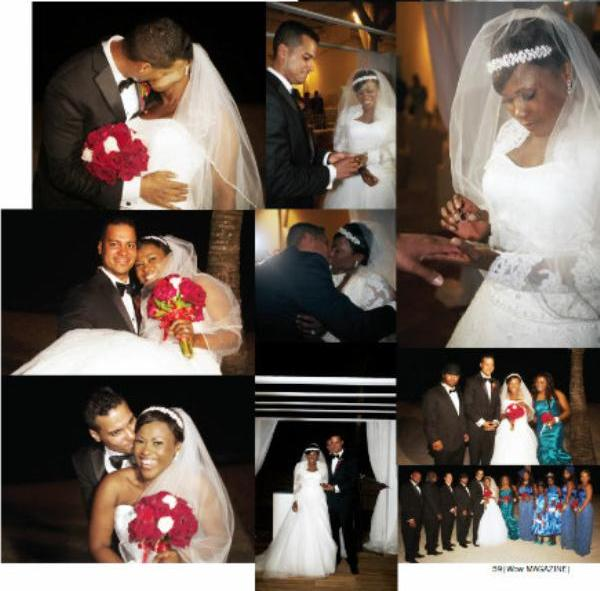 Uche Jombo's Wedding Pictures Finally Released
