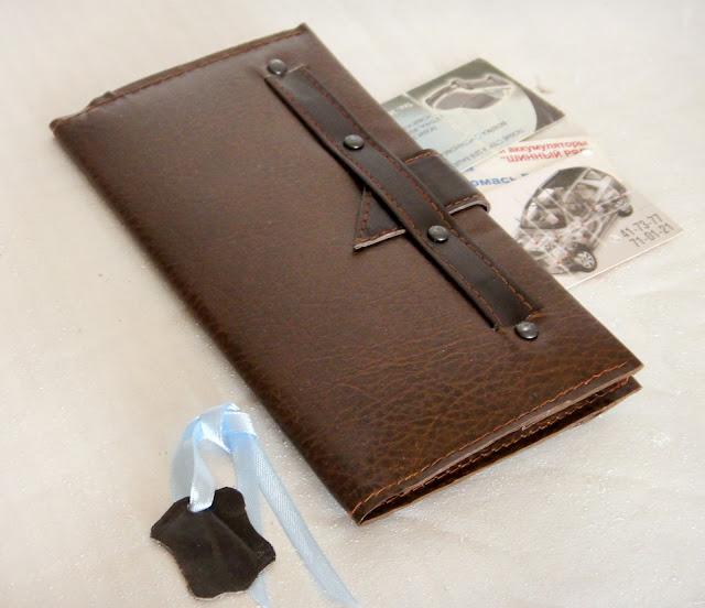 Мужское портмоне для водителей - натуральная кожа, персональный подарок мужу. Цвет, размер на усмотрение заказчика