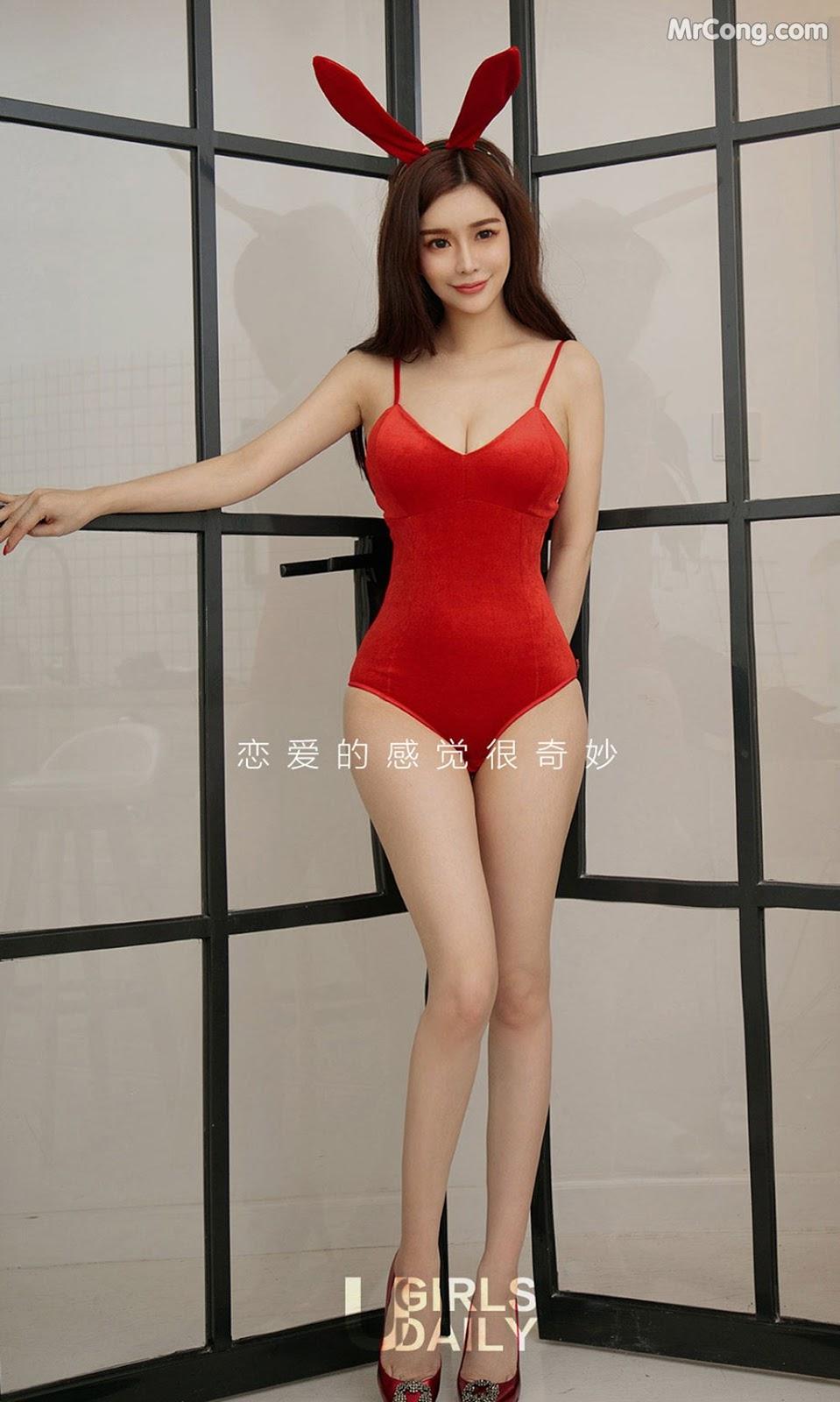 Image UGIRLS-Ai-You-Wu-App-No.1285-Chun-Xiao-Xi-MrCong.com-002 in post UGIRLS – Ai You Wu App No.1285: Người mẫu Chun Xiao Xi (纯小希) (35 ảnh)