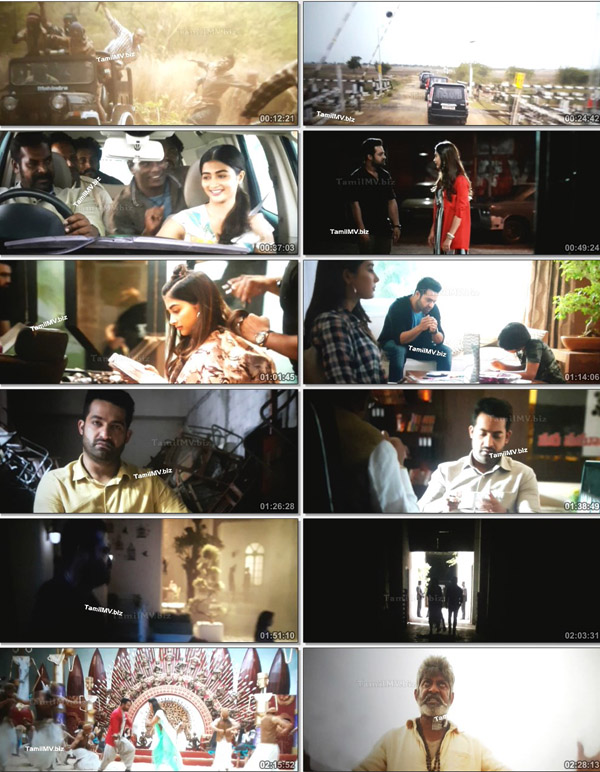 Aravindha Sametha Veera Raghava 2018 Telugu Movie 720p PreDVD 1 3GB