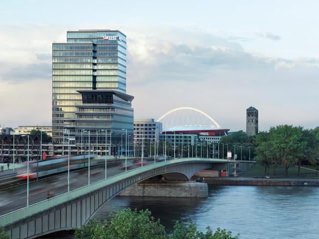 Kantor Pusat Lanxess Cologne-Jerman