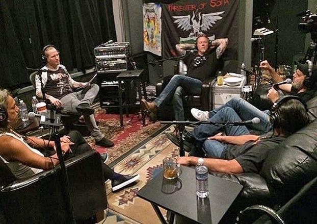 Corey Taylor Entrevista a Metallica. Escucha completo aquí.