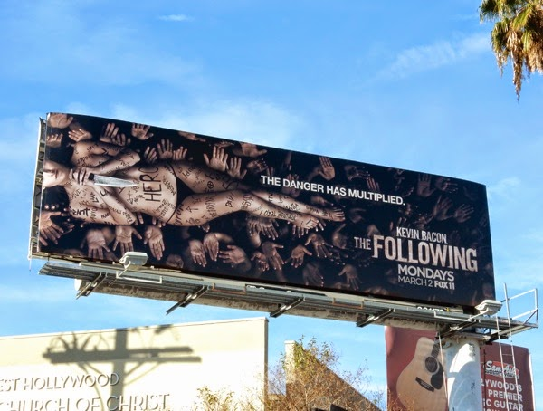 The Following season 3 Hero billboard