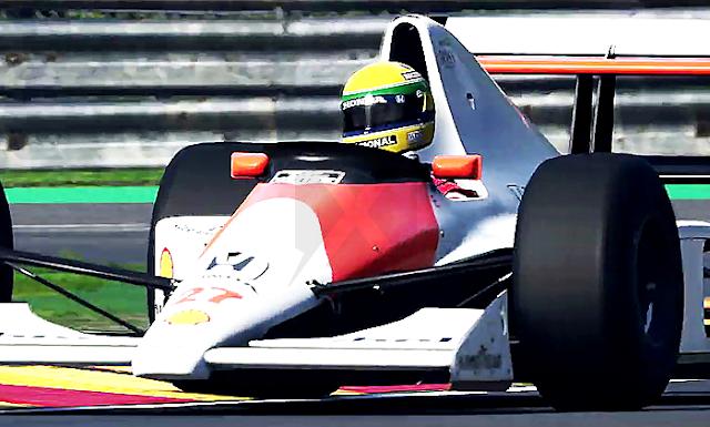 Legends Edition: Senna and Pros