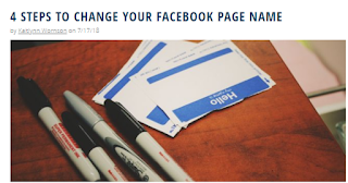 How To Edit Name On Facebook Pagehow To Sign In Facebook Page
