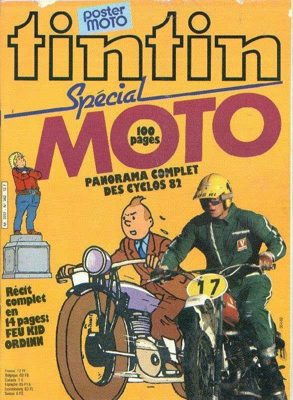 Tintin Moto
