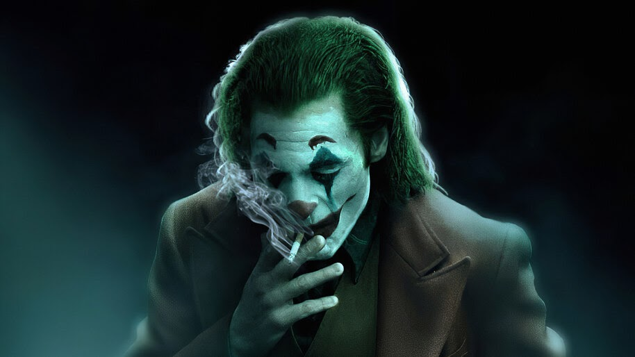 Joker, Smoking, 2019, 4K, #5.1484