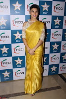 Gorgeous Jacqueline Fernandez  in yellow saree 02.JPG