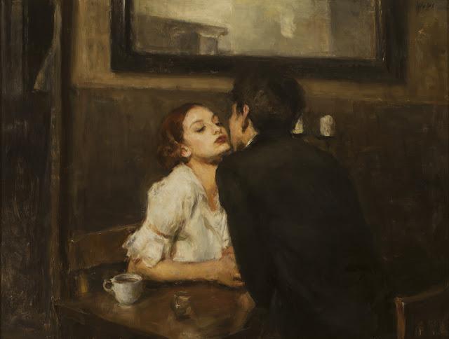 Resultado de imagem para kiss painting ron hicks